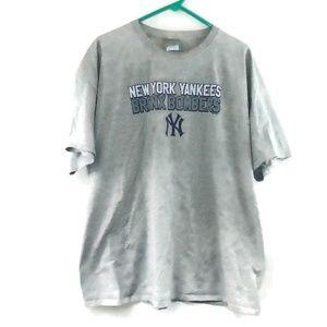 NY Yankees Bronx Bombers Shirt 2XL MLB Baseball